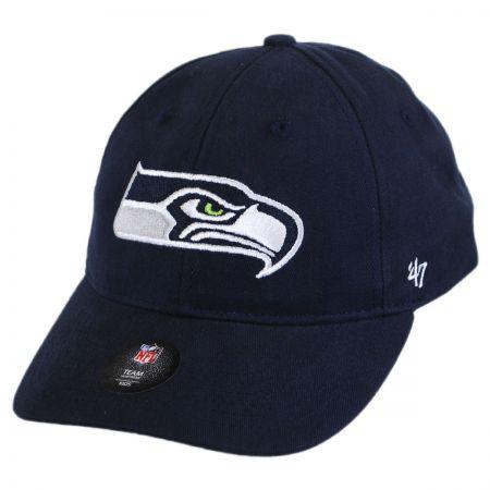 47 Brand Seattle Seahawks NFL Kids' Basic MVP Baseball Cap