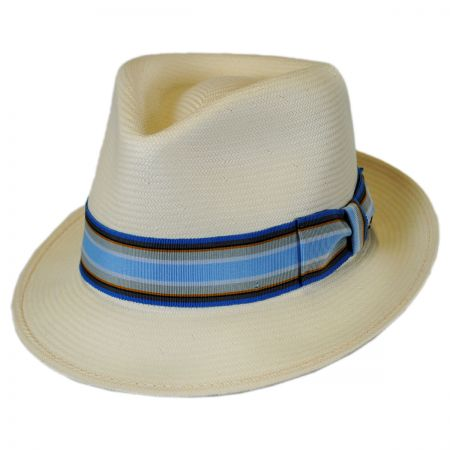 Bailey Tharp Shantung LiteStraw Fedora Hat