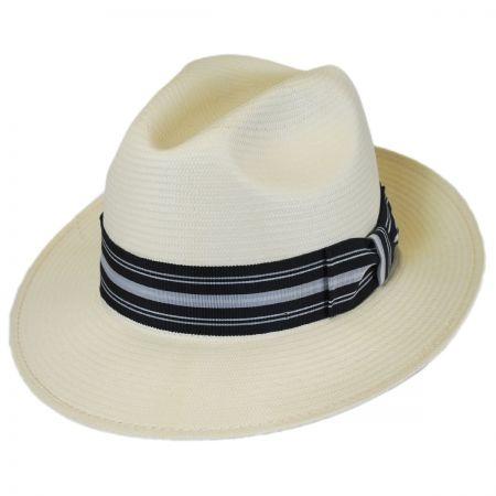 Bailey Creel Shantung LiteStraw Fedora Hat