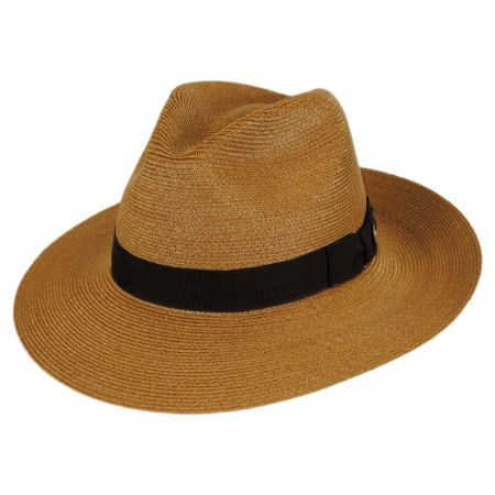 Stetson Sundowner Hemp Straw Fedora Hat