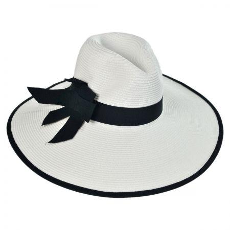 Toyo Straw Wide Brim Fedora Hat alternate view 5