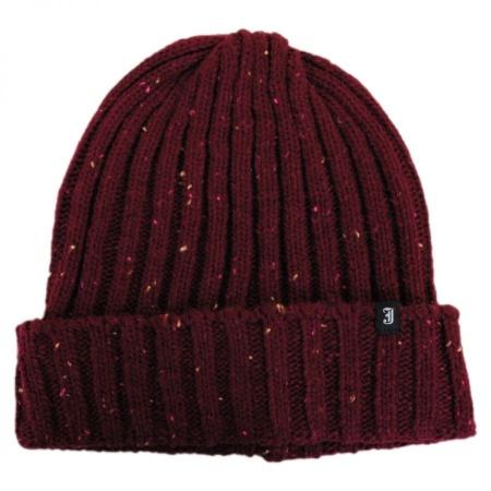 B2B Flecked Cuff Acrylic Beanie Hat
