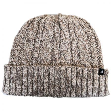 B2B Classic Cuff Wool Blend Beanie Hat