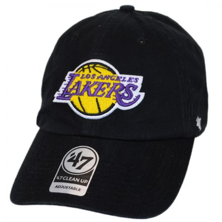 47 Brand Los Angeles Lakers NBA Clean Up Strapback Baseball Cap