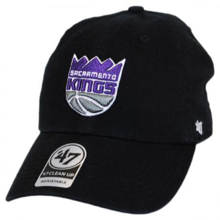 47 Brand Sacramento Kings NBA Clean Up Strapback Baseball Cap Dad Hat