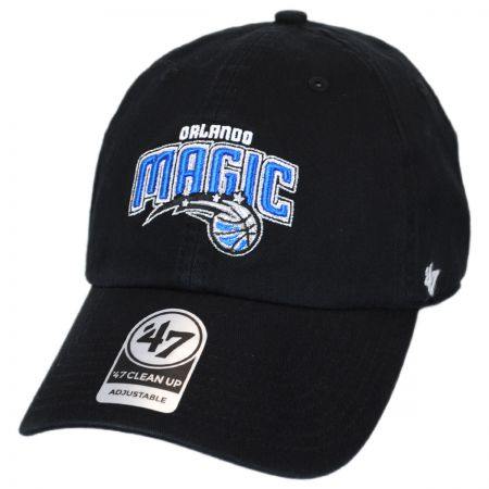 47 Brand Orlando Magic NBA Clean Up Strapback Baseball Cap