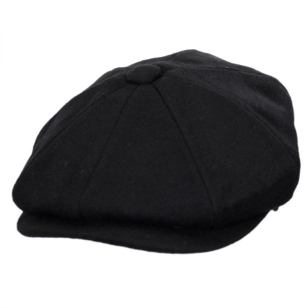 Jaxon Hats B2B Pure Wool Newsboy Cap