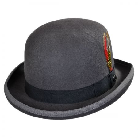 B2B English Wool Felt Bowler Hat
