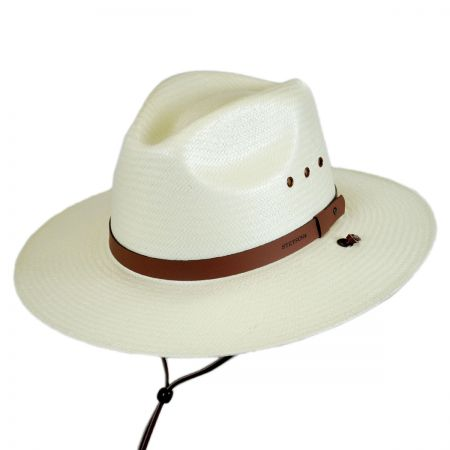 Los Alamos Toyo Straw Chincord Western Hat alternate view 1