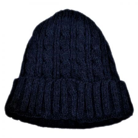 B2B Kids' Cable Knit Acrylic Beanie Hat