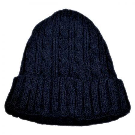 B2B Kids' Cable Knit Acrylic Beanie Hat