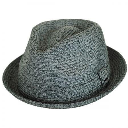 Billy Toyo Straw Braid Fedora Hat alternate view 56