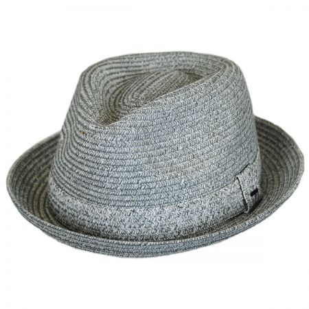Billy Toyo Straw Braid Fedora Hat alternate view 11