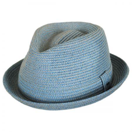 Billy Toyo Straw Braid Fedora Hat alternate view 14