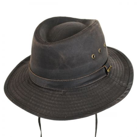 Stetson Distressed Cotton Gambler Hat