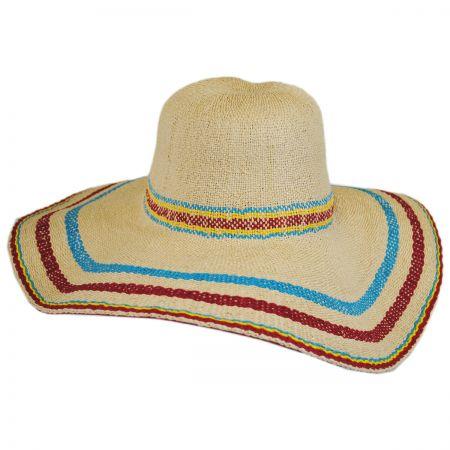 Cardenas Beach Toyo Straw Sun Hat alternate view 1