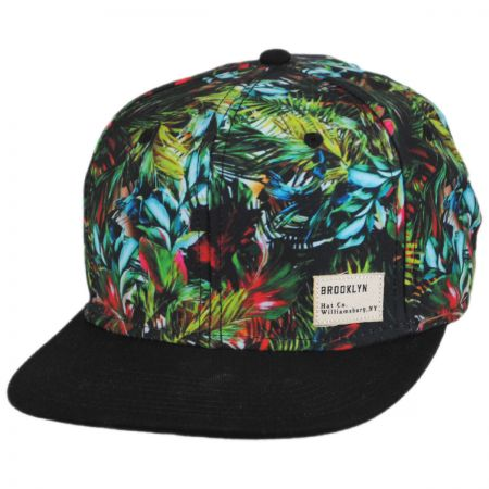 Brooklyn Hat Co Miami Vice Flat Bill Snapback Baseball Cap