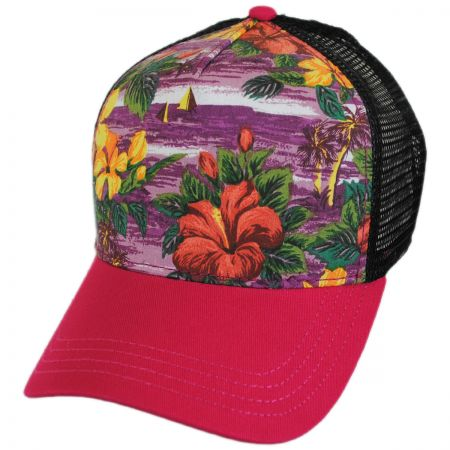 Brooklyn Hat Co Cape Coral Trucker Snapback Baseball Cap