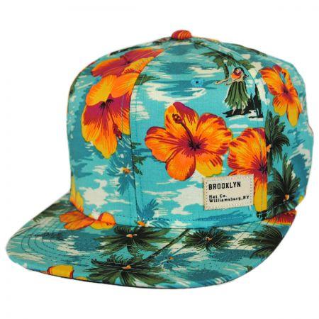 Brooklyn Hat Co Hilo Flat Bill Strapback Baseball Cap