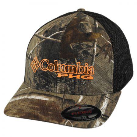 Columbia Sportswear PHG Realtree AP Camo Mesh Flexfit Fitted Baseball Cap