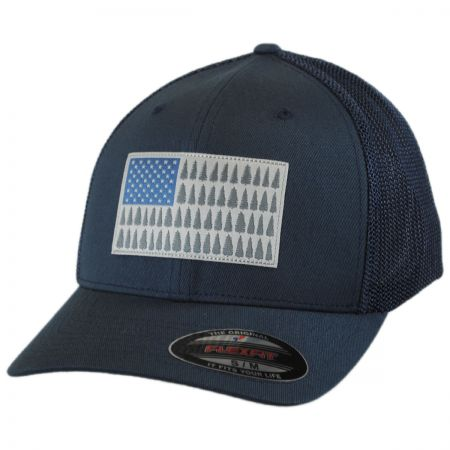 Tree Flag Mesh Flexfit Fitted Baseball Cap alternate view 49