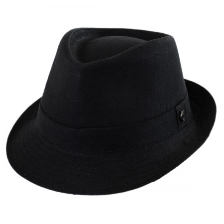 Cotton Trilby Fedora Hat alternate view 9