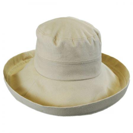 sur la tete Lily Linen Sun Hat
