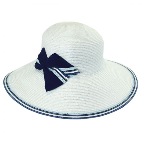 Callanan Hats Nautical Straw Downbrim Hat