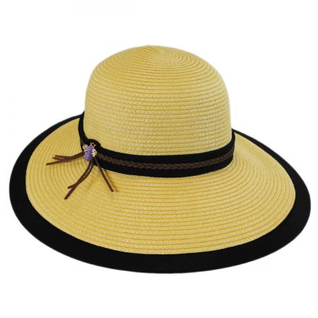 Callanan Hats Bumblebee Toyo Straw Facesaver Hat