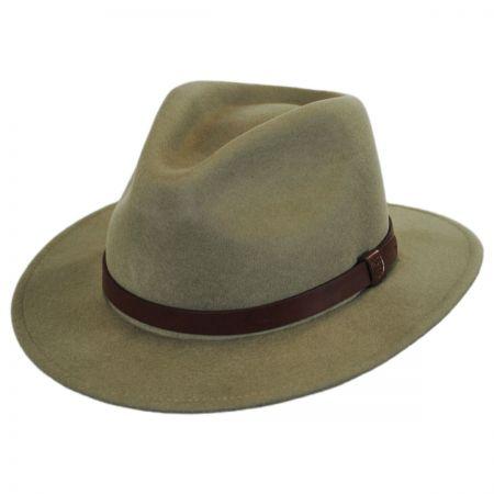 Messer Wool Felt Fedora Hat