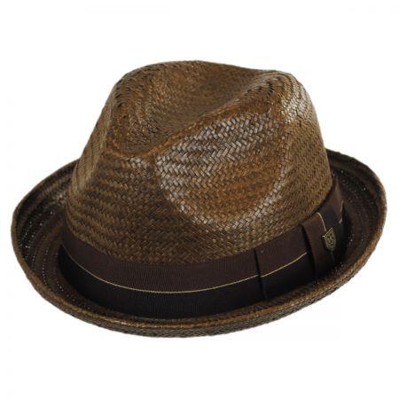 Castor Toyo Straw Fedora Hat