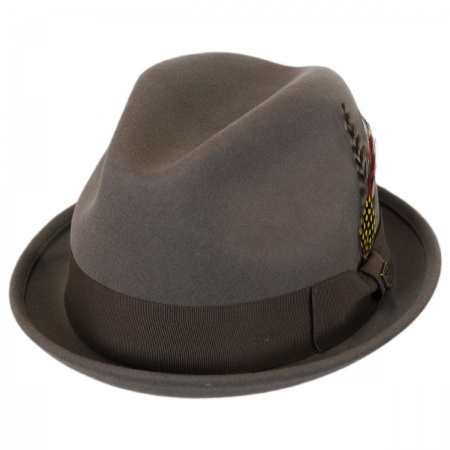Brixton Hats Gain Wool Felt Fedora Hat