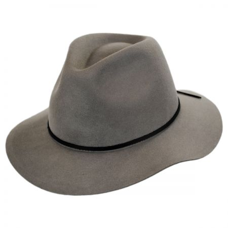 Wesley Wool Felt Floppy Fedora Hat alternate view 46