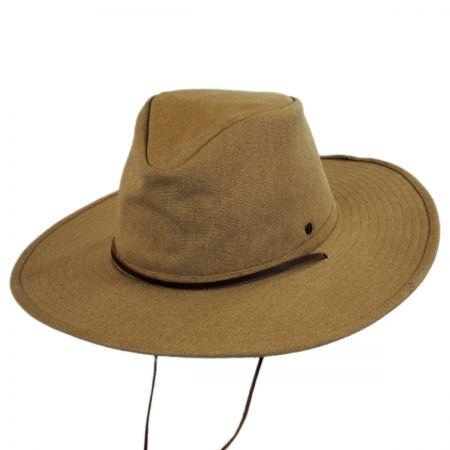 1fe25b72457bb5 Brixton Hats Ranger Canvas Chincord Aussie Hat