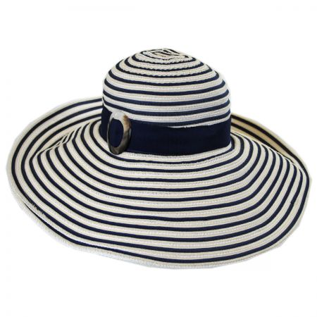 Tommy Bahama Ribbon Striped Lampshade Sun Hat