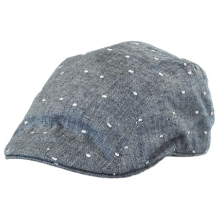 Linen Flat Cap at Village Hat Shop 200b264e4ff