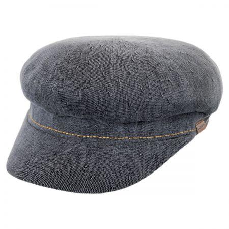 Kangol Indigo Enfield Cotton Fiddler Cap