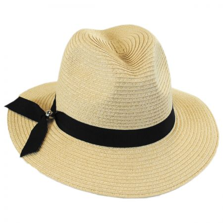 41564b9d1c2 Toyo Straw Fedora Natural at Village Hat Shop