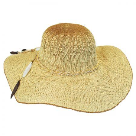 Boho Toyo Straw Wide Brim Swinger Hat alternate view 5