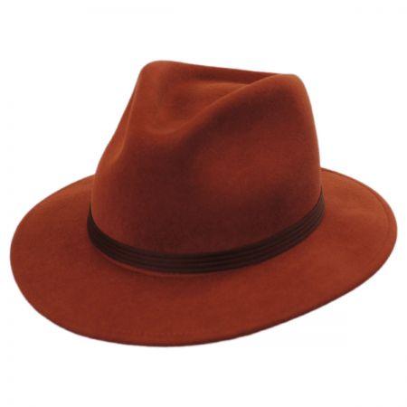 Brixton Hats Lana Wool Felt Fedora Hat