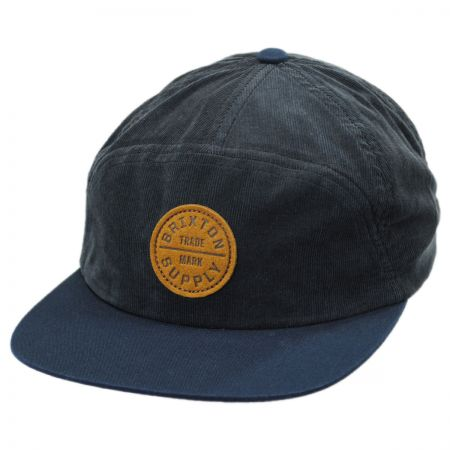 Brixton Hats Oath 7-Panel Strapback Baseball Cap