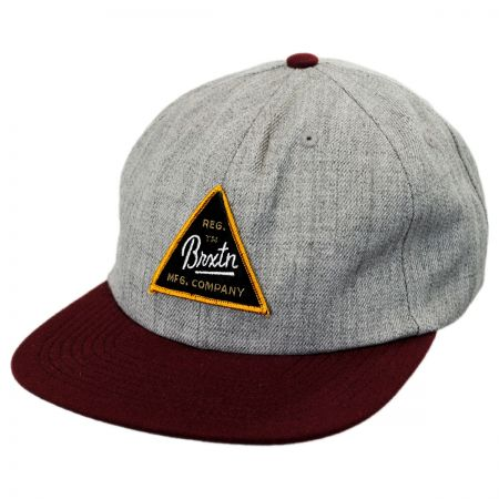 Brixton Hats Cue Snapback Baseball Cap