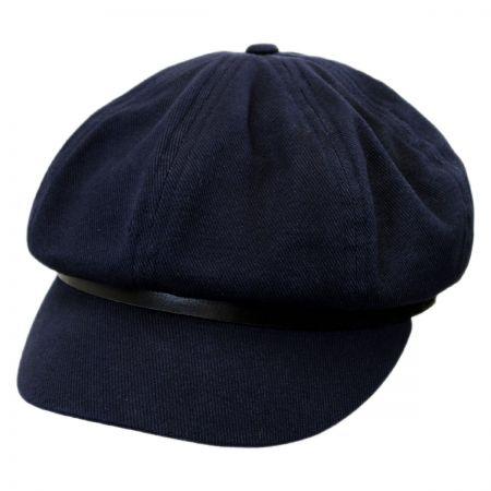 Brixton Hats Montreal Linen Baker Boy Cap