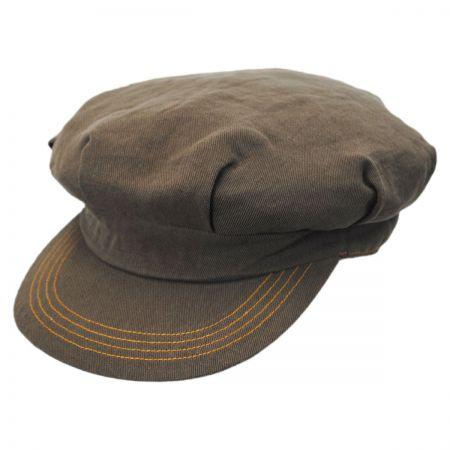 Brixton Hats Murdoch Linen Fiddler Cap