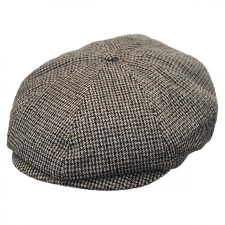 Brixton Hats Brood Tweed Wool Blend Newsboy Cap