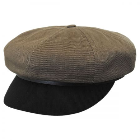 Brixton Hats Montreal Cotton Baker Boy Cap