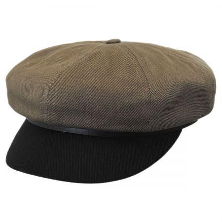 Brixton Hats Montreal Cotton Baker Boy Cap