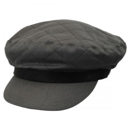 Bent Quilted Cotton Fiddler Cap alternate view 9