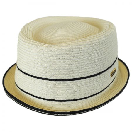 Kangol Fine Toyo Straw Braid Pork Pie Hat