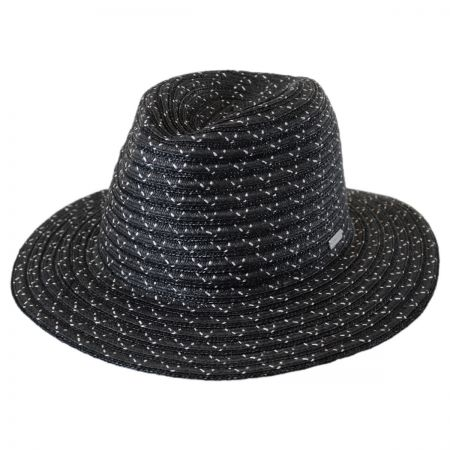 Davis Wheat and Toyo Straw Braid Fedora Hat alternate view 1